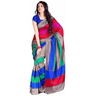 Sukuma Party Wear Bhagalpur Designer Saree Krazzy Seven Patta