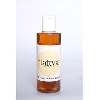 Tattva Woody Sandal Face and Body Wash