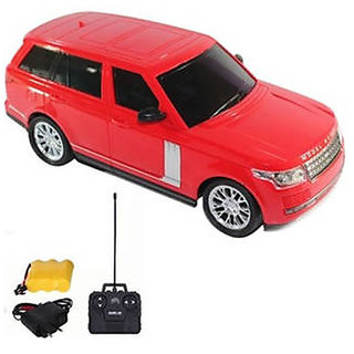 Zaprap Model Car (1-16) Remote Control Range Rover Car - Red
