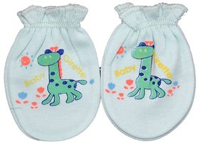 Mama  Bebes Infant Baby Mittens, Color-Green