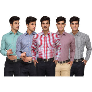 Pack of 5 Rico Sordi Shirt For Men (RSD770FS5)