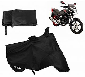 Relax Bike Body Cover For HERO CBZ EX-TREME - Black