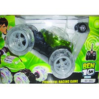 Ben 10 Remote Control Car (Radio Control) - Powerful Racing Game - Music  Light