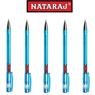 Natraj Silvo Ball Pens - 5 Pcs
