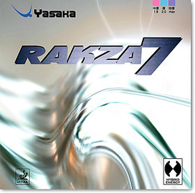 Yasaka Rakza 7 - Table Tennis Rubber -Red max Genuine Rubber-Imported from Japan