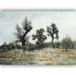 Vitalwalls Landscape Painting Canvas Art Print (Landscape-239-30cm)