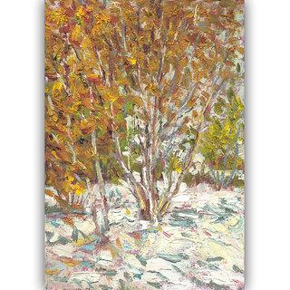 Vitalwalls Landscape Canvas Art Print on Wooden Frame Landscape-244-F-60cm