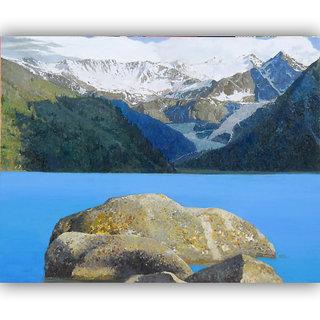 Vitalwalls Landscape Painting Canvas Art Print (Landscape-264-30Cm)