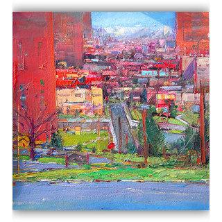 Vitalwalls Landscape  Canvas Art Print.Landscape-267-30cm