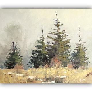 Vitalwalls Landscape  Canvas Art Print on Wooden Frame Landscape-270-F-45cm