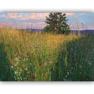 Vitalwalls Landscape Canvas Art Print on Wooden Frame (Landscape-298-F-30cm)