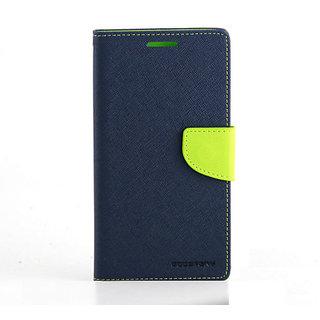 Mercury Flip Cover for Samsung Galaxy Mega 5.8- Green/Blue