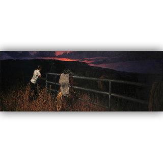 Vitalwalls Landscape Painting Canvas Art Print (Landscape-304-45Cm)