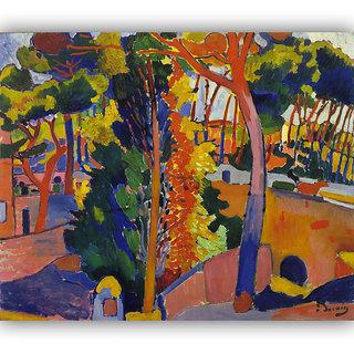 Vitalwalls Landscape Painting Canvas Art Print.Landscape-069-60cm