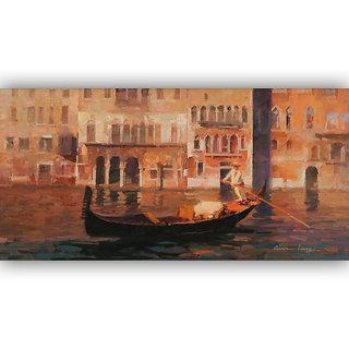 Vitalwalls Landscape Painting Canvas Art Print.Landscape-075-45cm