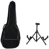 Kadence Foldable Guitar Stand And Bag Combo