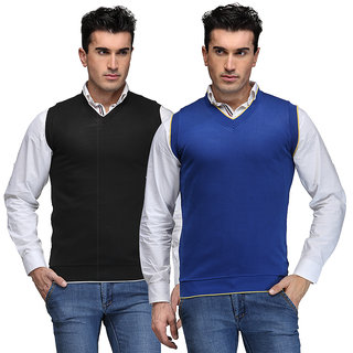 TSX Men's Multicolor Sweater (Pack of 2)