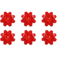 E-Retailer Fancy Red Diamond Gel Candle  (Set Of 6 Pcs.