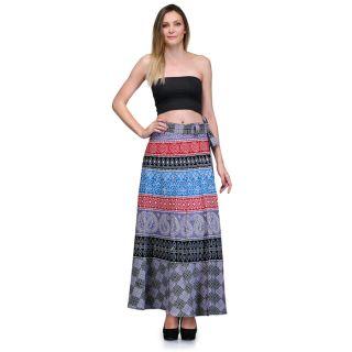 Saffron Craft Full Length Wrap around Skirt