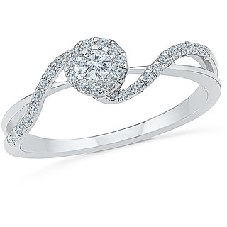Radiant Bays Deluxe Engagement Band Ring in 14k White Gold (Diamond Quality VS-GH)