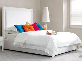 ROYAL WHITE BED W KING SIZE Furnishwood 00154990