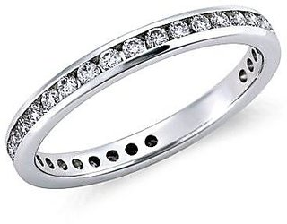 Full Eternity Ring in Platinum by Suranas Jewelove JL PT 24