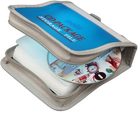 Solo Computer CD Wallet, Zipper 32 CD Zipper Closure - CD032