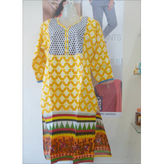 Jaipuri Cotton Kurtis