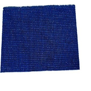 Homedecorhd PVC Medium Floor Mat Hddd2(Blue)