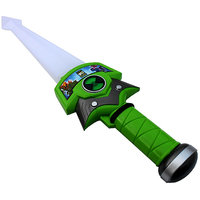 BEN 10 Green Plastic Sword with Light  Music