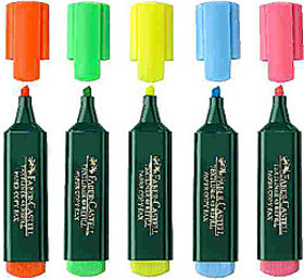 Faber Castell Textliner Set of 5 Shades