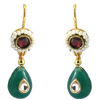 Emerald Drop Earings By AARA