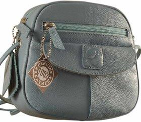 Nothing like a Maya Teen genuine leather sling bag - to enhance your style  confidence. eZeeBags YT842v2