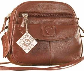 Nothing like a Maya Teen genuine leather sling bag - to enhance your style  confidence. eZeeBags YT842v4