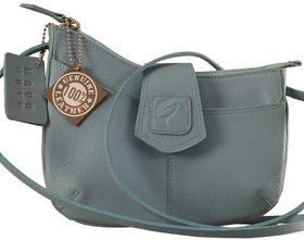 This curvy genuine leather sling bag is all about you  how you carry your style  confidence eZeeBags  YT846v1.