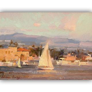 Vitalwalls Landscape Painting Canvas Art Print (landscape-112-30Cm)