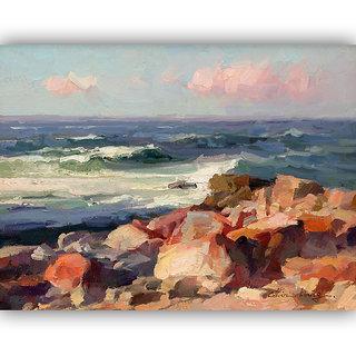 Vitalwalls Landscape Painting Canvas Art Print (landscape-113-30Cm)