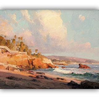 Vitalwalls Landscape Painting Canvas Art Print (landscape-115-45Cm)