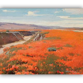 Vitalwalls Landscape Painting Canvas Art Print (landscape-116-30Cm)