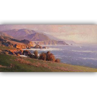 Vitalwalls Landscape Painting Canvas Art Print (Landscape-078-30Cm)