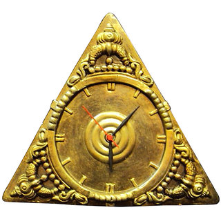 Terracotta Wall Clock Bronze Finish