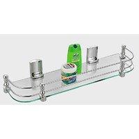 Cipla plast Bathroom Glass Shelf (20x5.5)