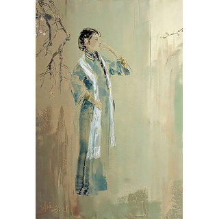 Vitalwalls Portrait Canvas Art PrintOriental-276-30