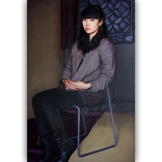 Vitalwalls Portrait Canvas Art PrintOriental-277-30