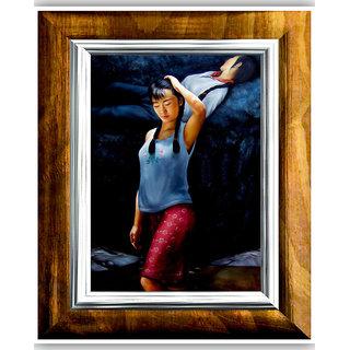 Vitalwalls Portrait Canvas Art PrintOriental-279-45