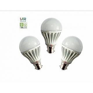 Combo Of Brio Led Bulb 7W 5W 5W (Pack Of 3)