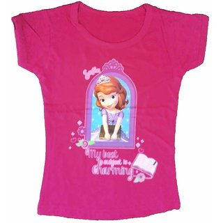 Pure Soft Cotton Baby Girl T-Shirt