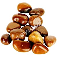 Satyamani Natural Yellow Jasper Tumblestone For Vastu H