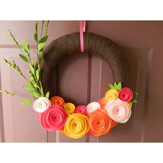 handmade handicrafts decor on wall