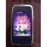 Soft Jelly Silicone Skin Case Back Cover Pouch For Micromax Bolt A-28 A 28 A28